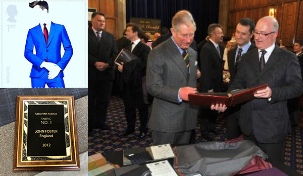 David Gallimore MD of John Foster meets Prince Charles