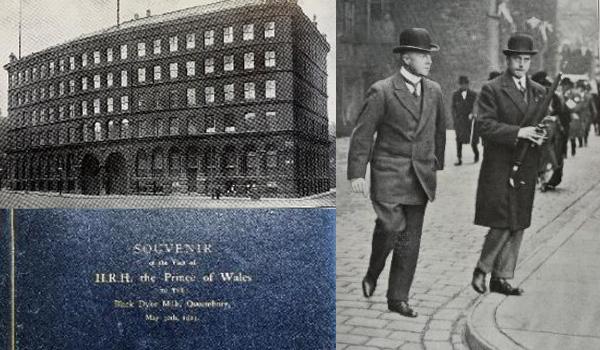 1923 HRH Prince of Wales Visit to John Foster, BLack Dyke Mills