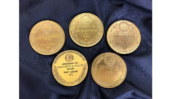 1960's John Foster wins multiple International cloth Awards