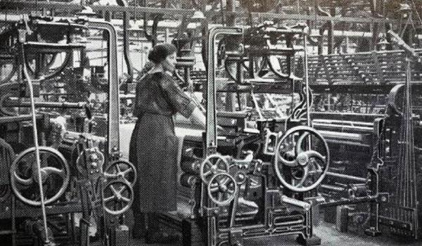 John Foster 1836 Power-Looms Weaving Investment
