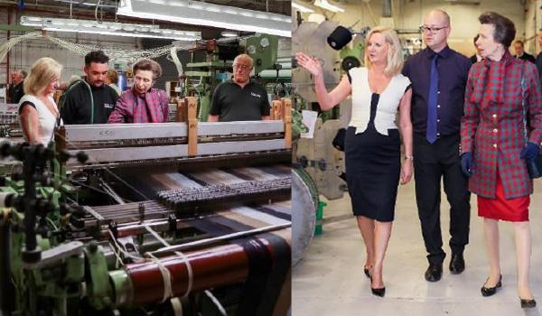 2017 HRH The Princess Royal visits the Mill