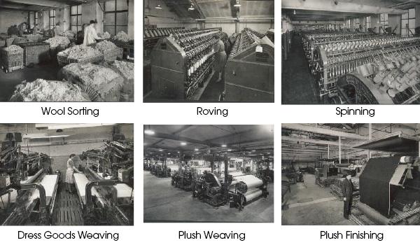 1945-1949 John Foster Black Dyke Mills Developments