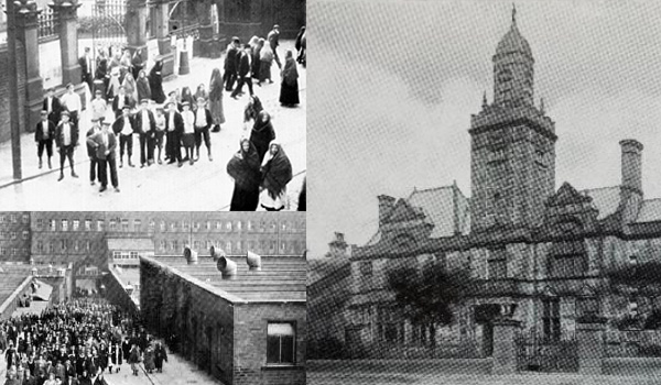 1891 Facilities are built for John Foster workpeople - Victoria Hall, Queensbury